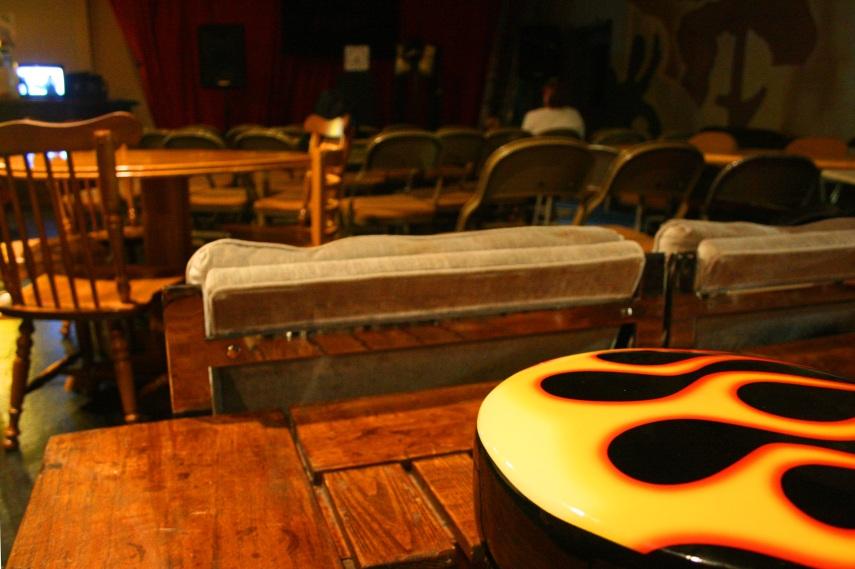 Push Push Theater seats