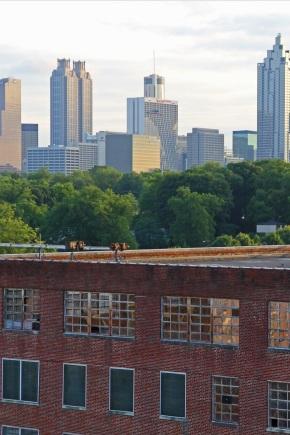 View of downtown Atlanta