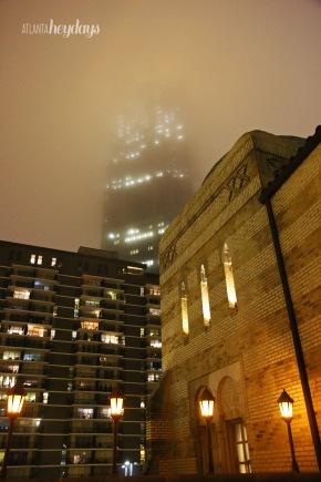 Foggy view